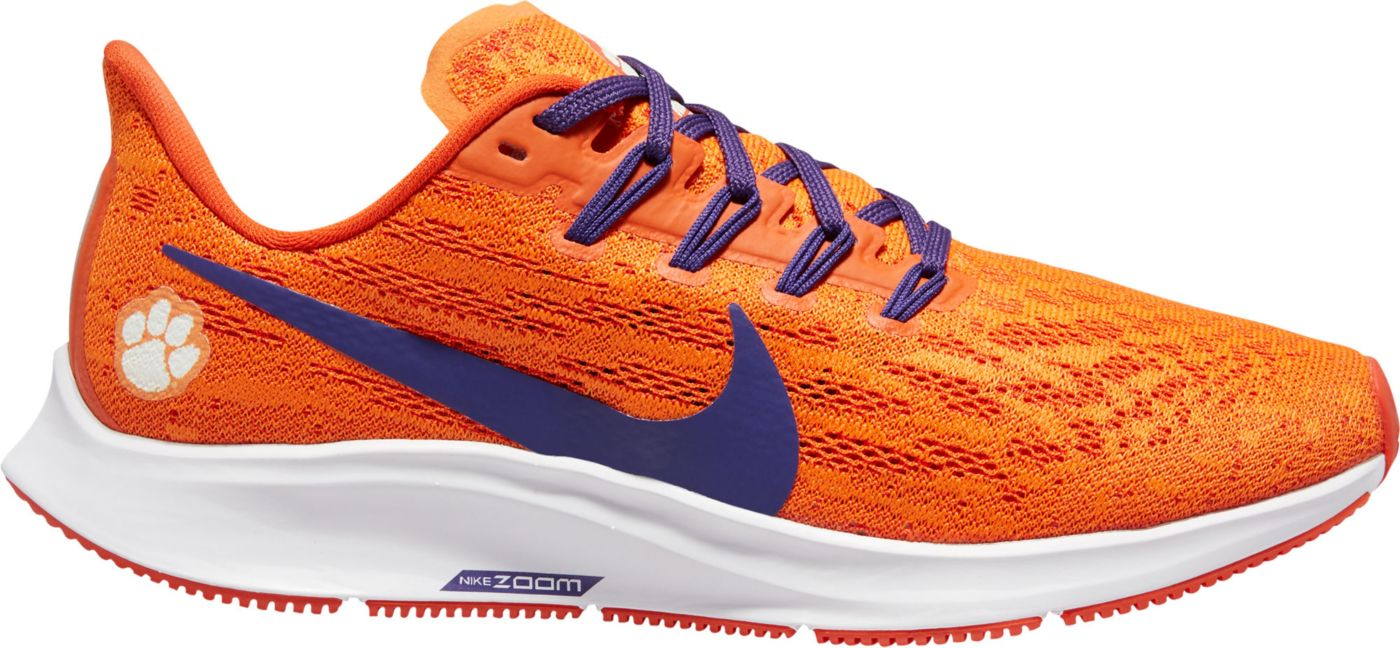 Nike Women's Clemson Air Zoom Pegasus 36 Running Shoes