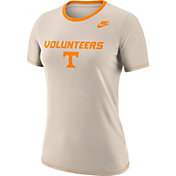 Nike Women's Tennessee Volunteers Oatmeal Dry Crew Neck T-Shirt