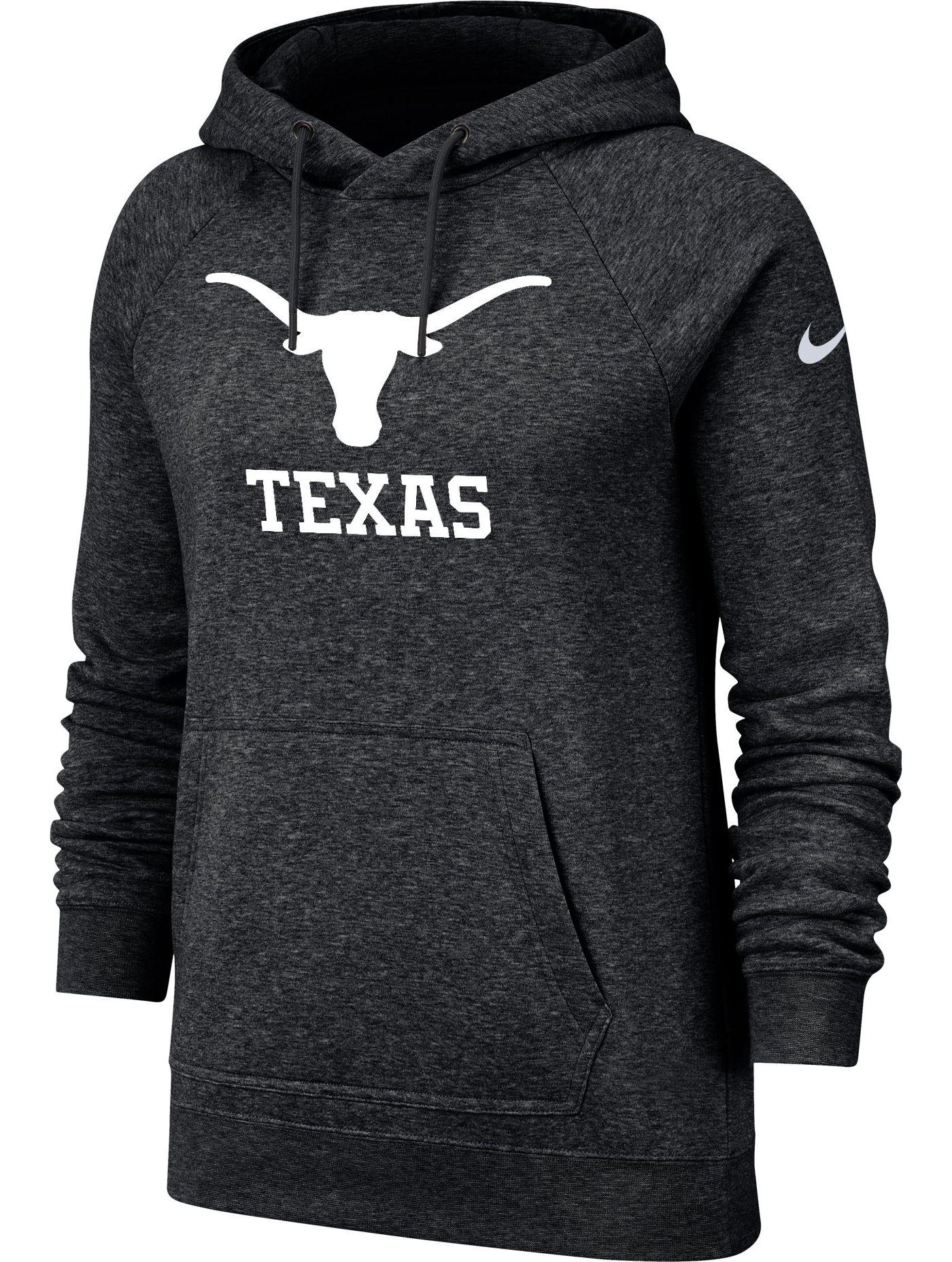 Nike Women's Texas Longhorns Rally Pullover Black Hoodie