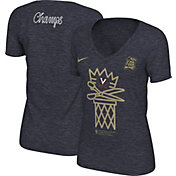 Nike Women's Virginia Cavaliers 2019 Men's Basketball National Champions Scissors V-Neck T-Shirt