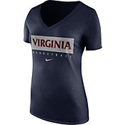 Nike Women's Virginia Cavaliers Blue Basketball Legend Practice T-Shirt