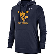 Nike Women's West Virginia Mountaineers Blue Club Fleece Pullover Hoodie
