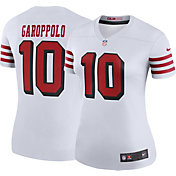 Nike Women's Color Rush Legend Jersey San Francisco 49ers Jimmy Garoppolo #10