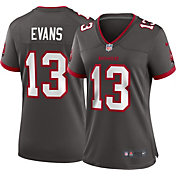 Nike Women's Tampa Bay Buccaneers Mike Evans #13 Alternate Pewter Game Jersey