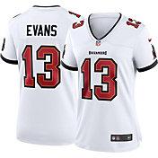 Nike Women's Tampa Bay Buccaneers Mike Evans #13 Away White Game Jersey