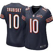 Nike Women's 100th Home Game Jersey Chicago Bears Mitchell Trubisky #10