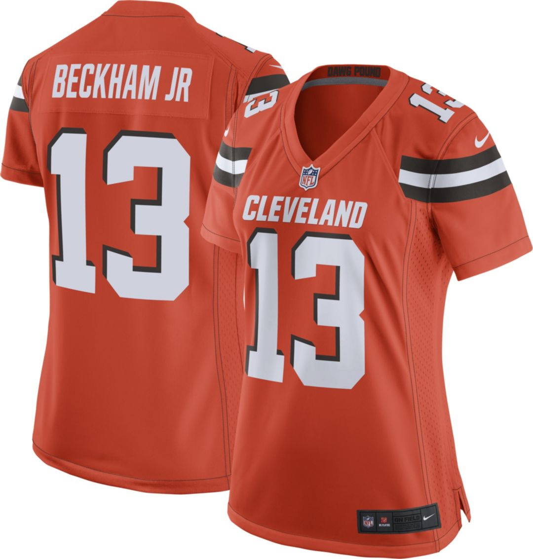 check out c173c e23e2 Odell Beckham Jr. #13 Nike Women's Cleveland Browns Alternate Game Jersey