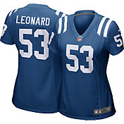 Nike Women's Home Game Jersey Indianapolis Colts Darius Leonard #53
