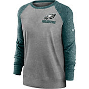 Nike Women's Philadelphia Eagles Gym Vintage Grey Sweatshirt