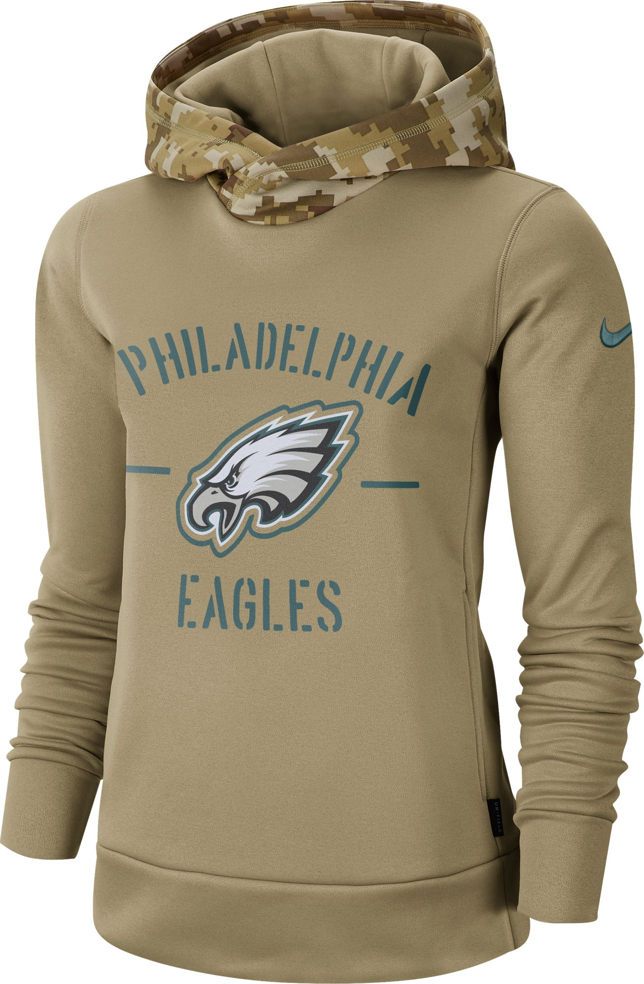 salute to service eagles shirt