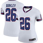 Nike Women's New York Giants Saquon Barkley #26 White Legend Jersey