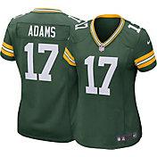 Nike Women's Away Game Jersey Green Bay Packers Davante Adams #17