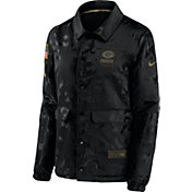 Nike Women's Salute to Service Green Bay Packers Black Jacket