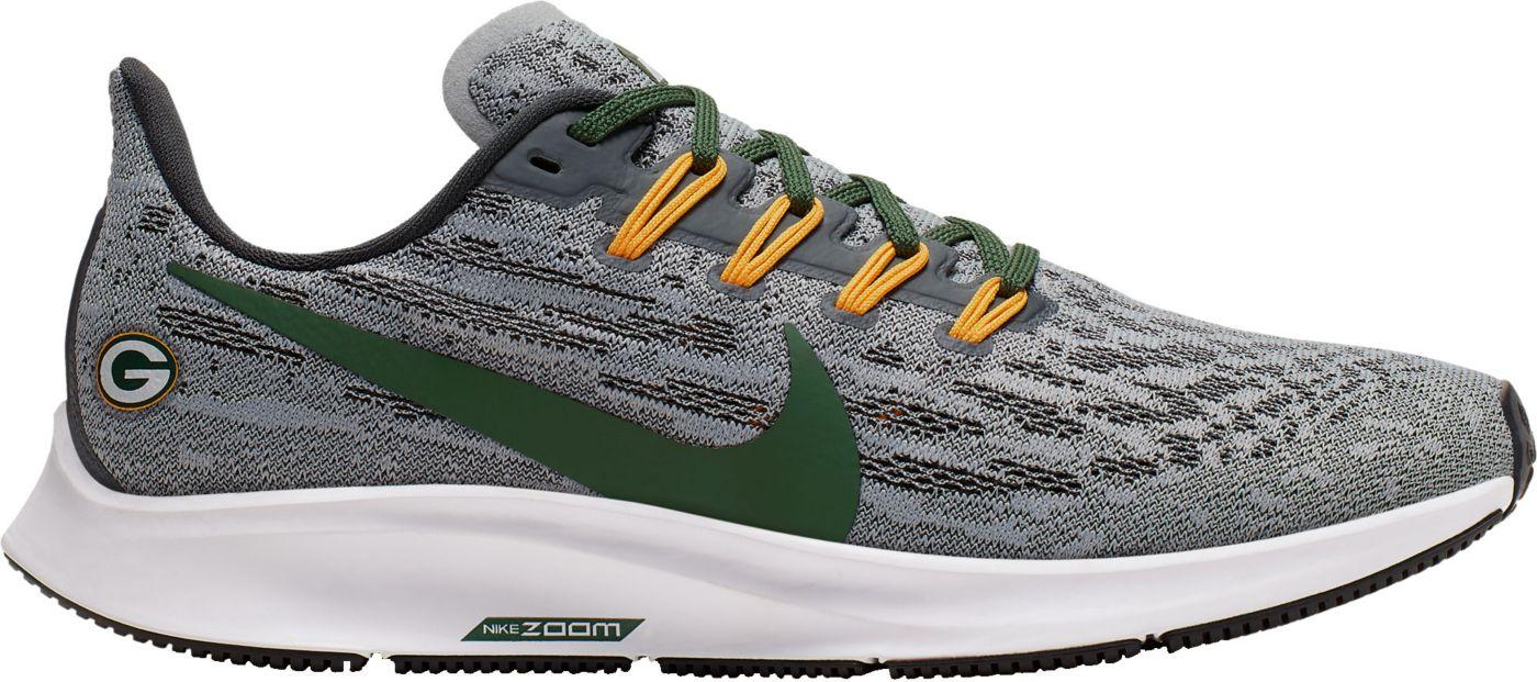 Nike Women's Green Bay Packers Air Zoom Pegasus 36 Running Shoes