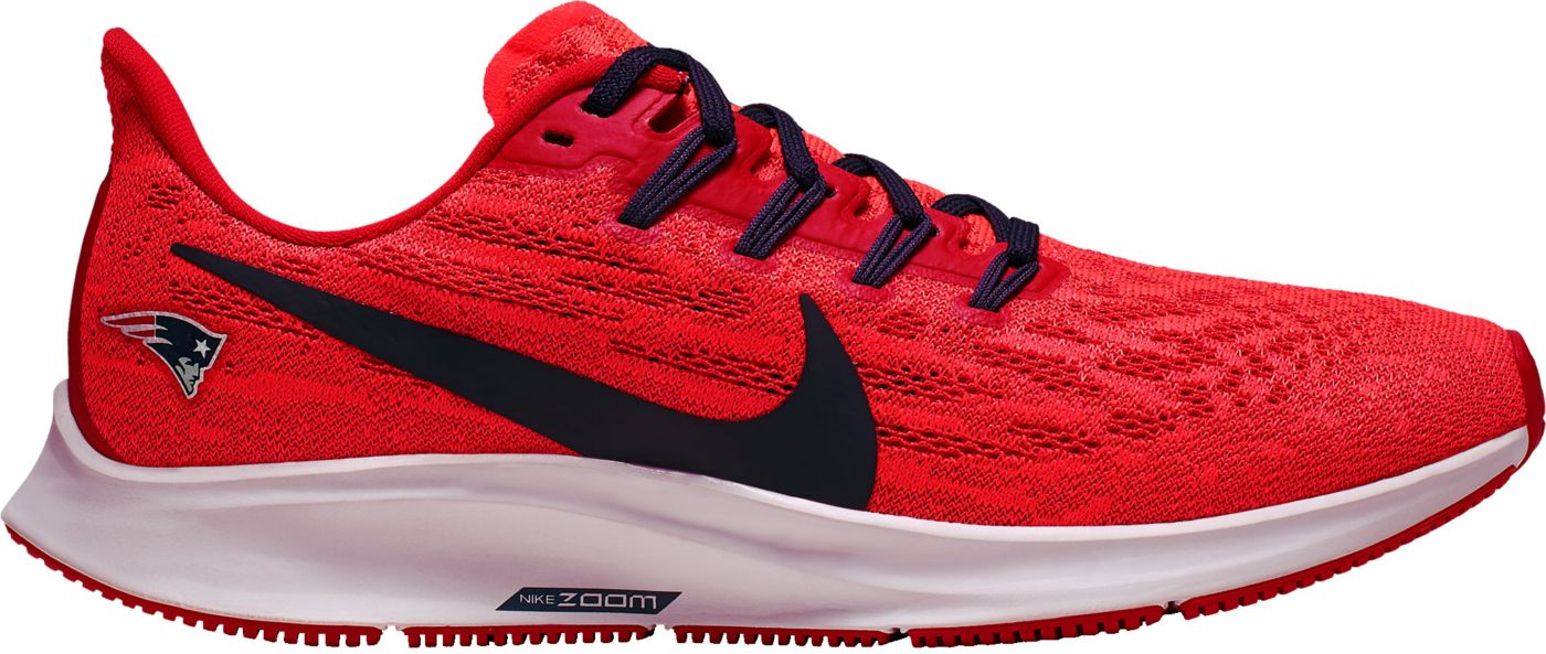 Nike Women's New England Patriots Air Zoom Pegasus 36 Running Shoes