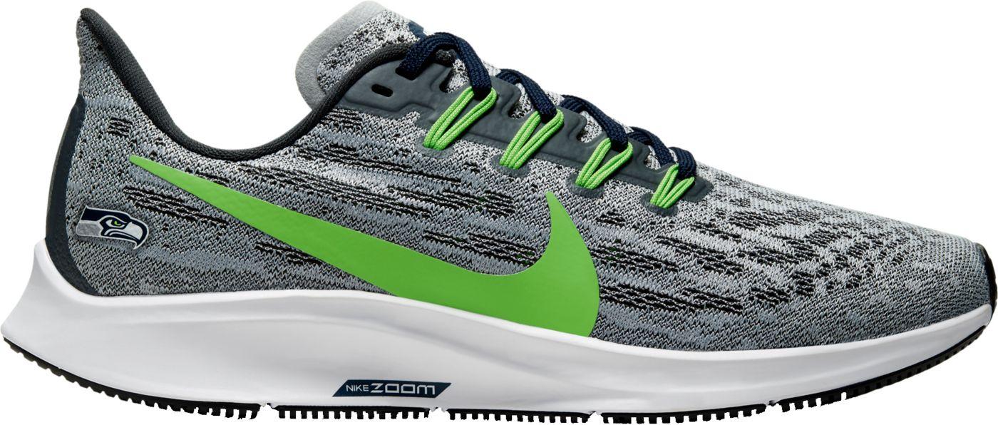 Nike Women's Seattle Seahawks Air Zoom Pegasus 36 Running Shoes