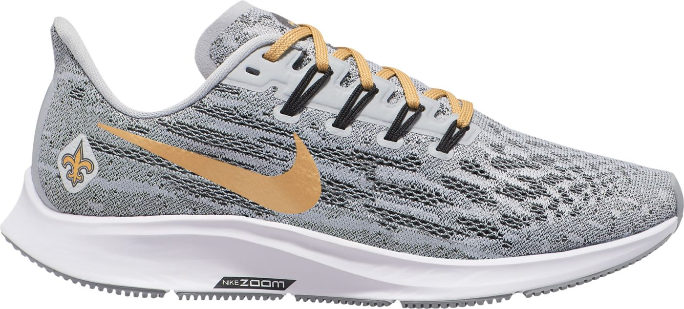 Nike Women's New Orleans Saints Air Zoom Pegasus 36 Running Shoes