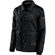 Nike Women's Salute to Service New England Patriots Black Jacket