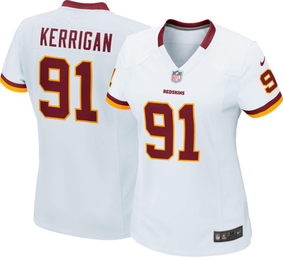 sneakers for cheap a3772 e7aec Nike Women's Away Game Jersey Washington Redskins Ryan Kerrigan #91
