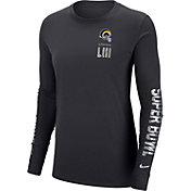 Nike Women's Super Bowl LIII Media Night Los Angeles Rams Long Sleeve Shirt