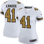 Nike Women's Color Rush Legend White Jersey New Orleans Saints Alvin Kamara #41