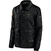 Nike Women's Salute to Service New Orleans Saints Black Jacket
