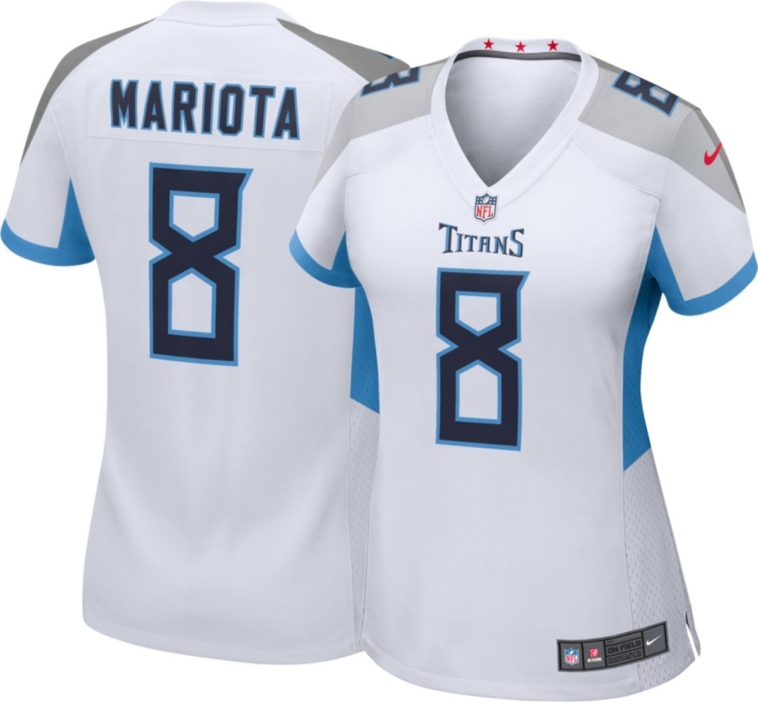 8df4dba4 Nike Women's Away Game Jersey Tennessee Titans Marcus Mariota #8