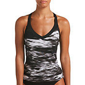 Nike Women's Blur V-Neck Tankini Top