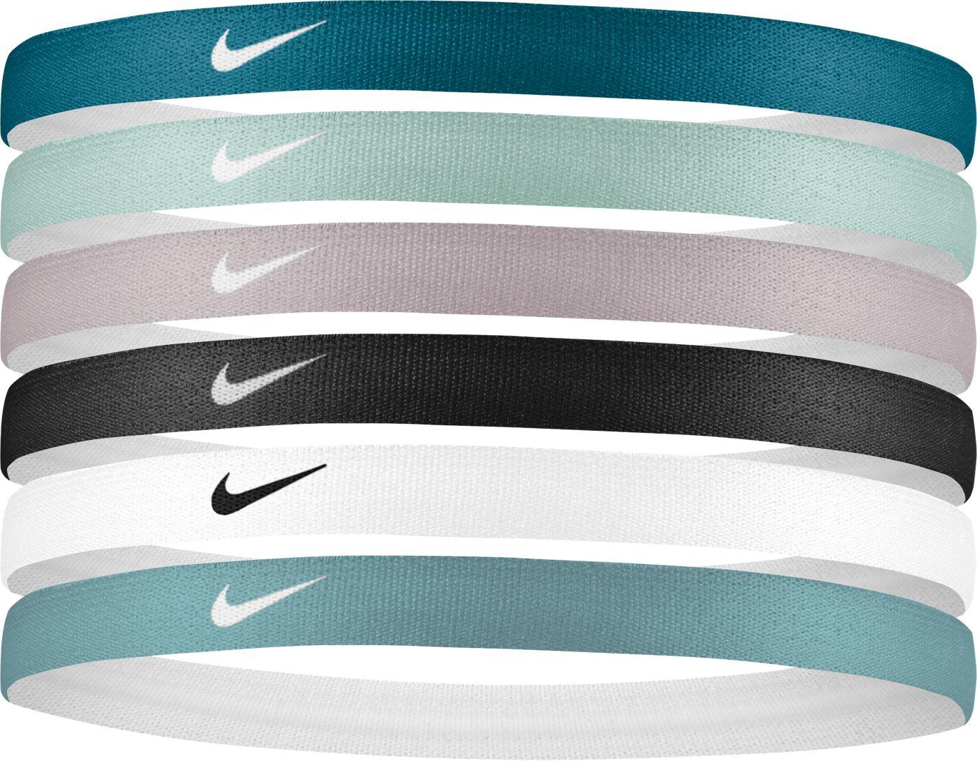 Nike Women's Swoosh Sport 2.0 Headbands – 6 Pack