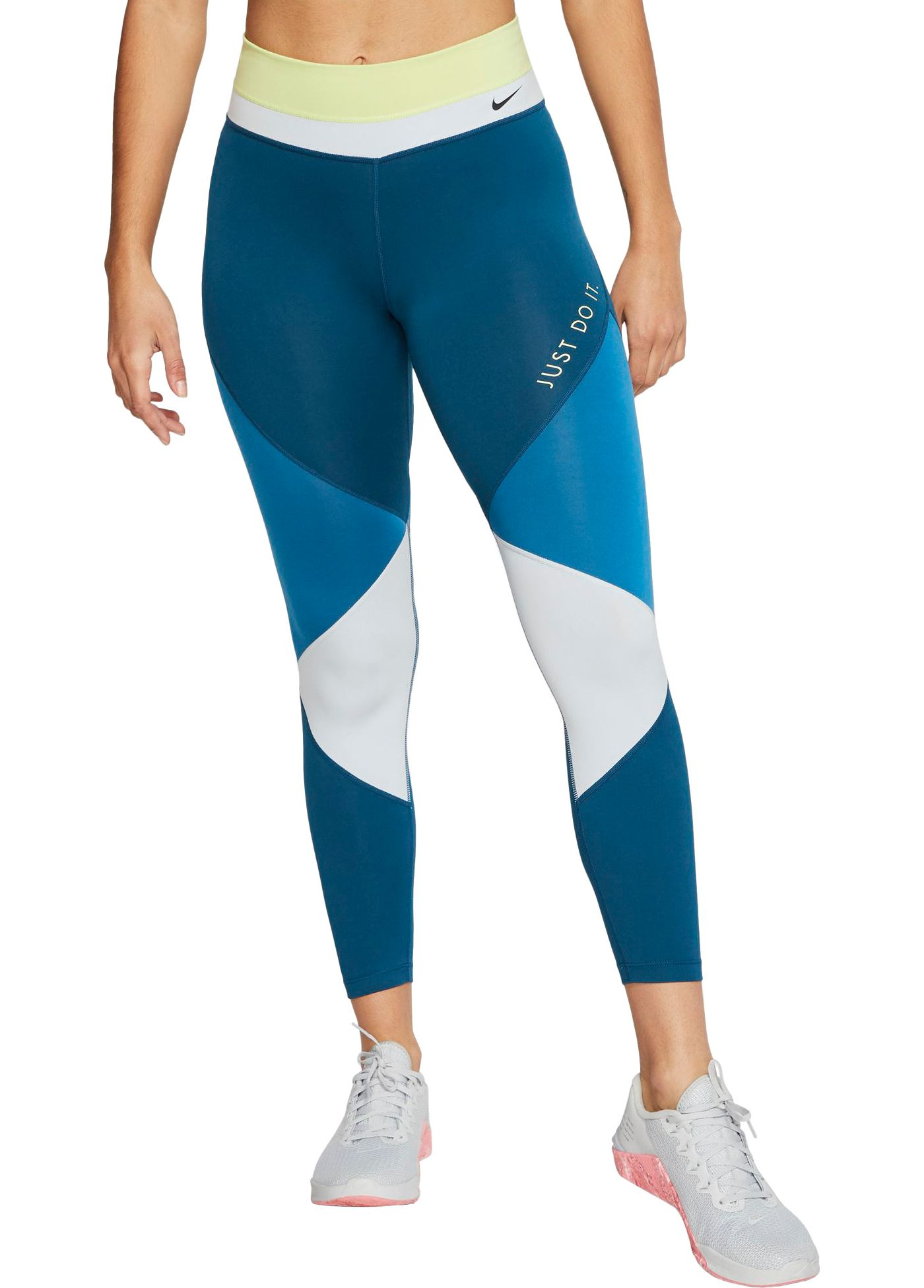 Nike One Women's Colorblock 7/8 Tights