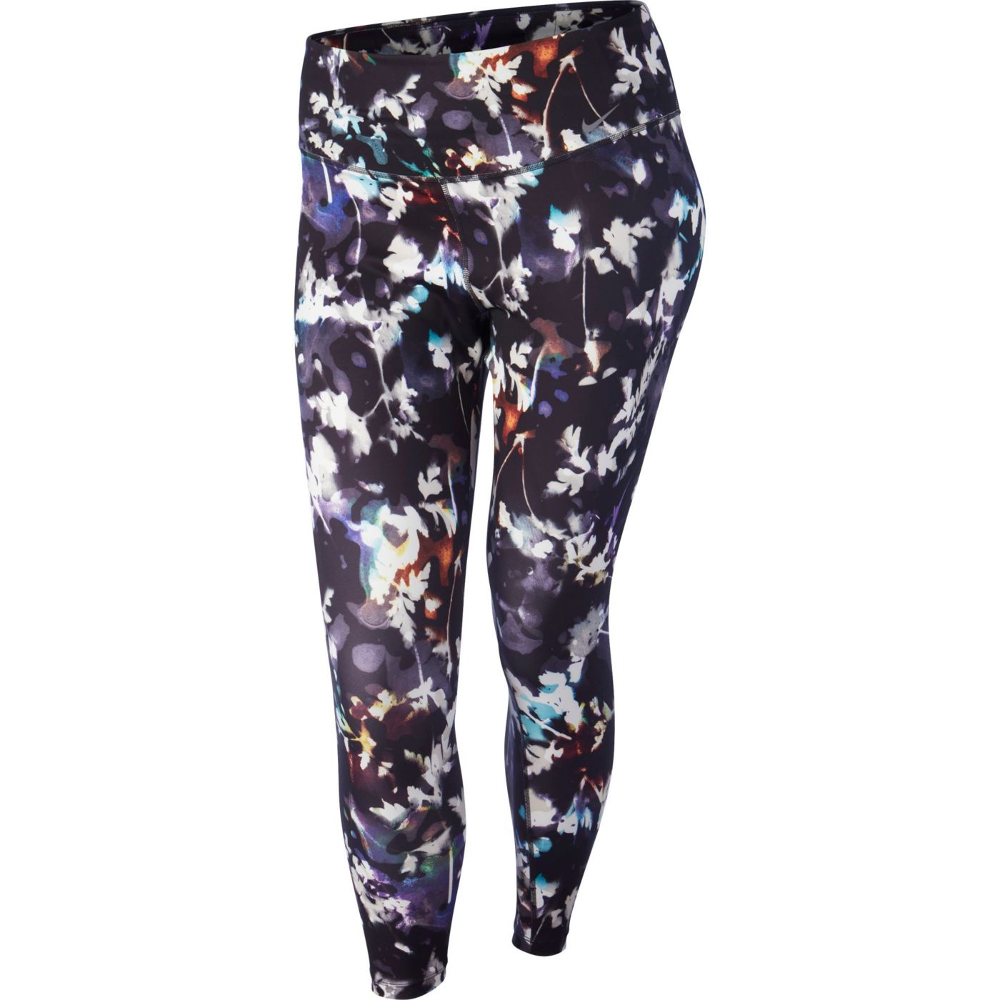 Nike One Women's Plus Size Washed Floral Training Tights