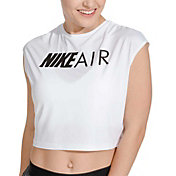 Nike Air Women's Short Sleeve Running Crop Top