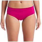 Nike Women's Solid Full Brief Swimsuit Bottoms