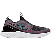 buy online 89dbc d4360 Product Image · Nike Women s Epic Phantom React Flyknit Running Shoes ·  Black Multi · Black White ...