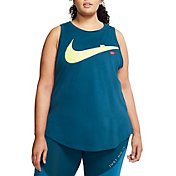 Nike Women's Plus Size Dri-FIT Just Do It Training Tank Top