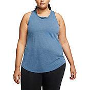 Nike Women's Plus Size Yoga Twist Back Training Tank Top