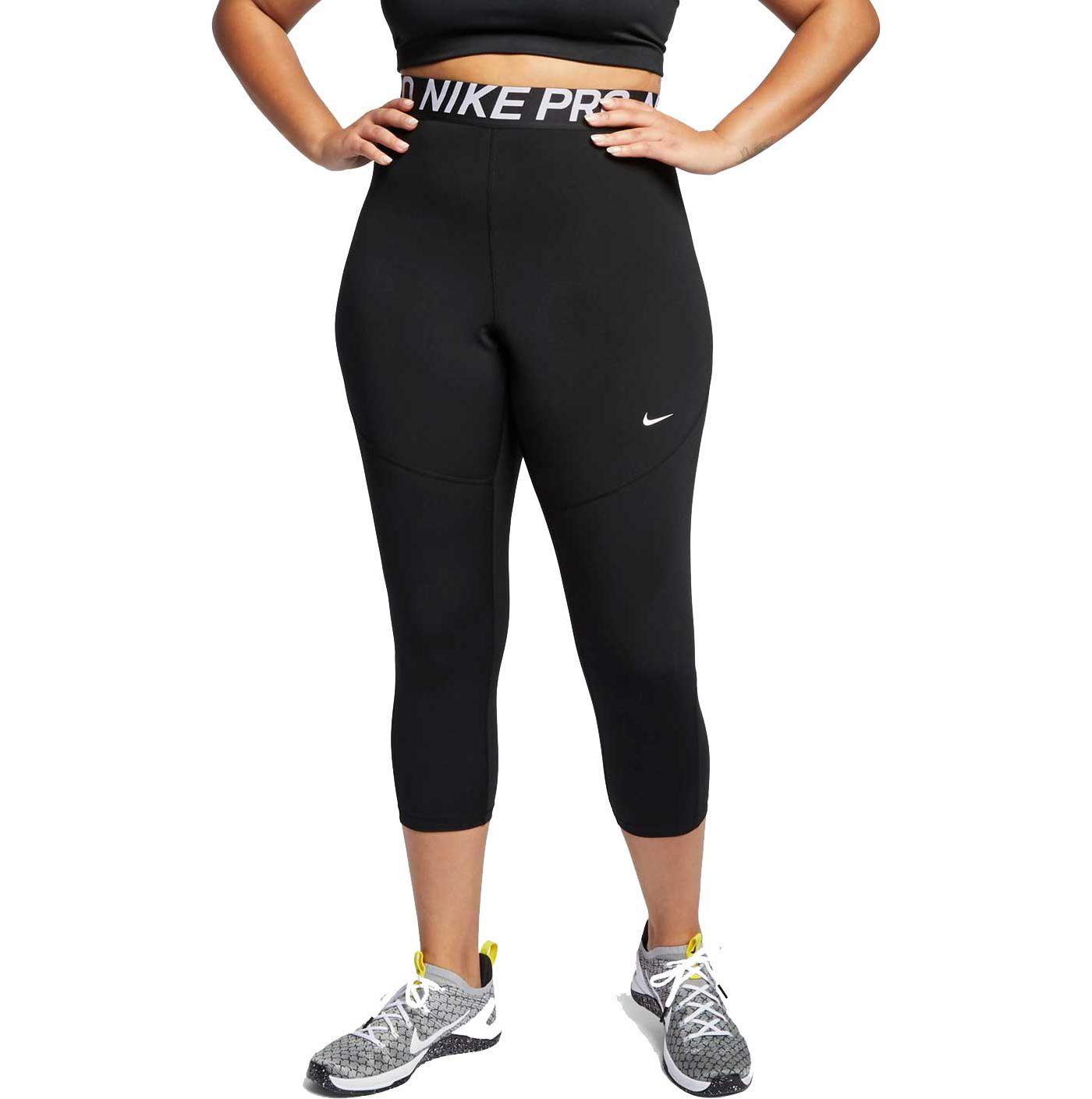 Nike Women's Plus Size Pro Crop Tights