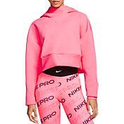 Nike Women's Pro Pullover Fleece Hoodie