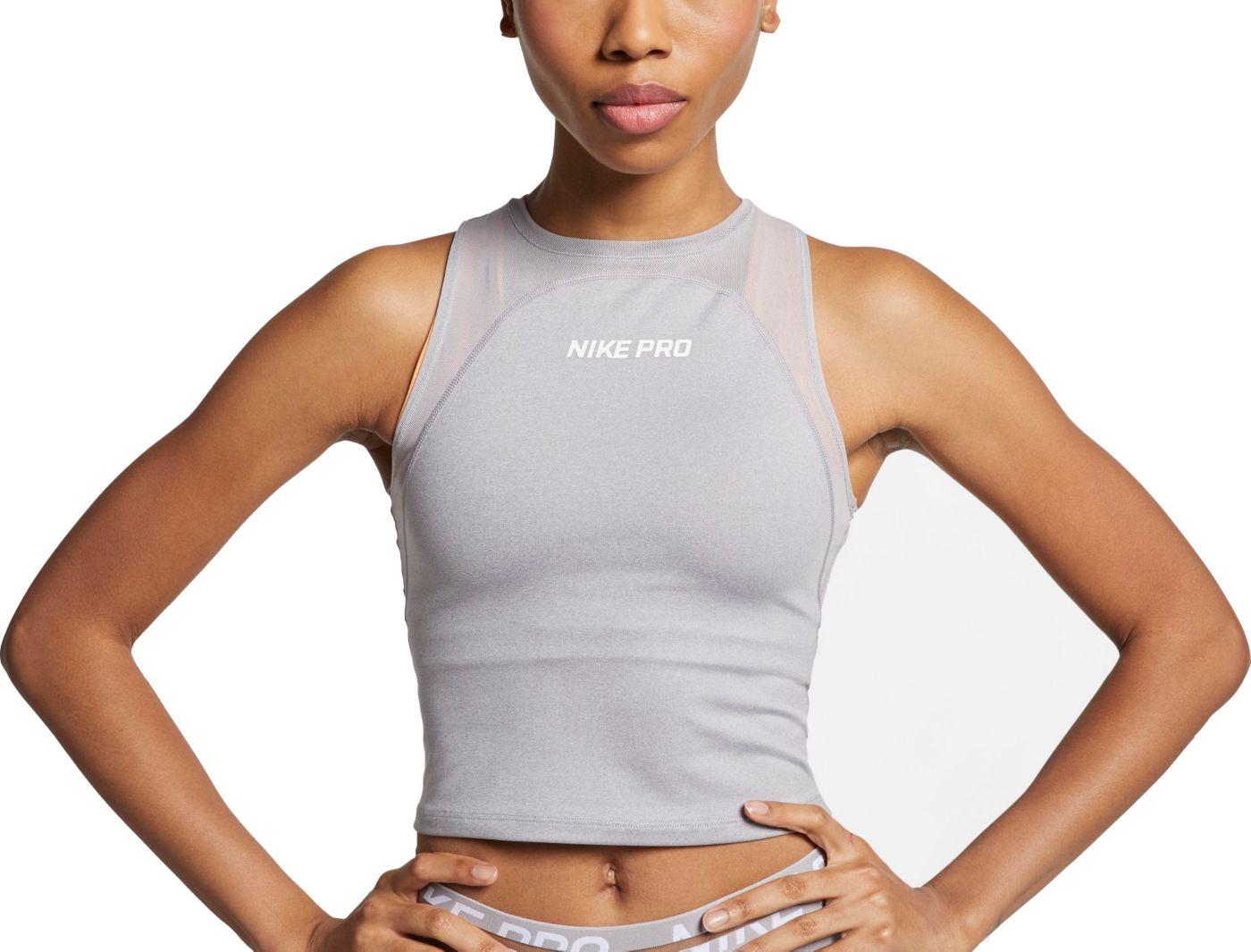 Women's Nike Pro Heatherized Tank
