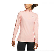 Nike Women's Pro Warm 1/2 Zip Long Sleeve Shirt