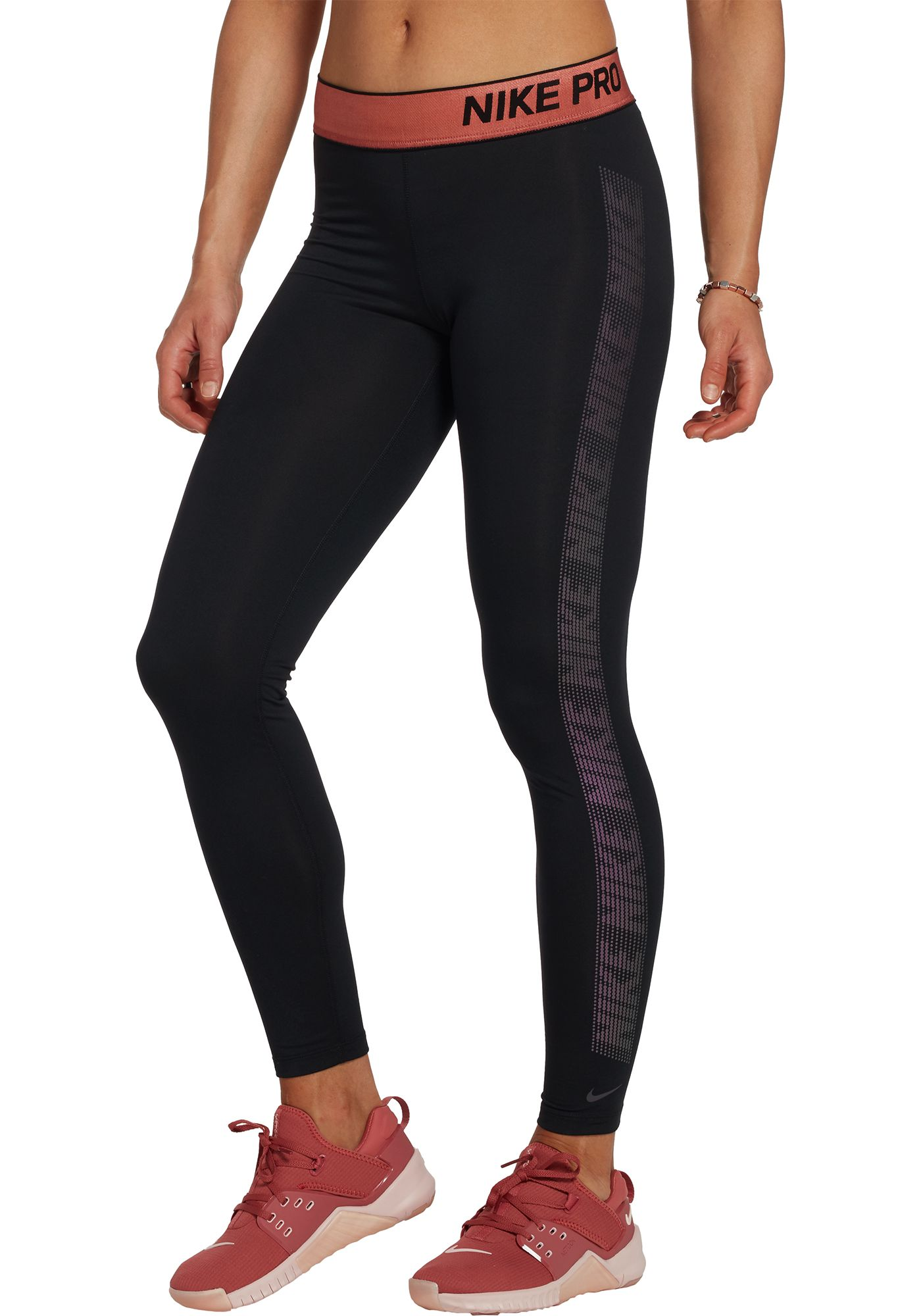 Nike Women's Pro Warm Nerieds Tights