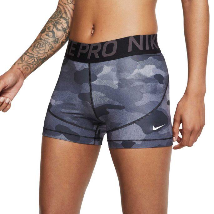 3 nike pro shorts