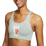 Nike Women's Rebel Swoosh Medium Support Sports Bra