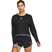 Nike Women's Air Cropped Long Sleeve Shirt