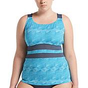 Nike Women's Plus Size Radical Edge V-Back Tankini Top