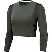 Nike Women's AeroAdapt Pro Cropped Long Sleeve Shirt