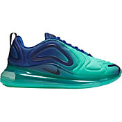 Nike Women's Air Max 720 Shoes in Deep Royal Blue/Hyper Jade