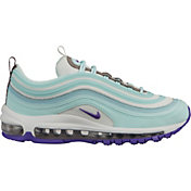 Nike Women's Air Max 97 Shoes in Teal/Purple