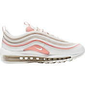 Nike Women's Air Max 97 Shoes in White/Coral