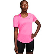 Nike Woman's Pure Performance Running Short Sleeve T-Shirt